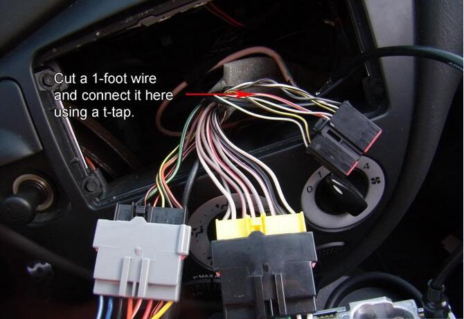 ford focus svt aftermarket radio wiring connection ford diy diy rh forddiy com ford focus radio wiring diagram 2007 ford focus radio wiring