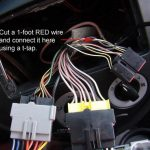 Ford Focus SVT Aftermarket Radio Wiring Connection (3)