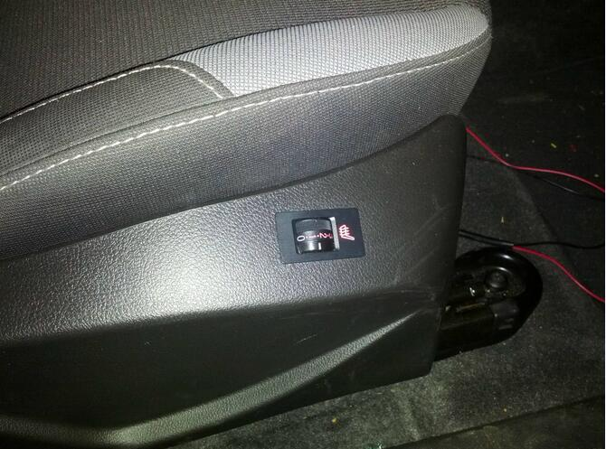 How to Install Heated Seat for Ford Focus 2012 (3)