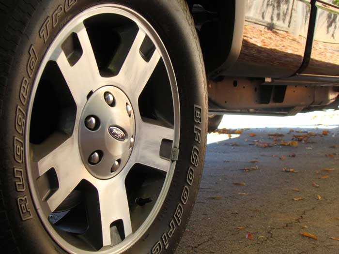 How to Paint Ford F150 OEM Wheel by Yourself (4)