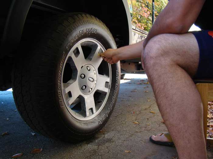 How to Paint Ford F150 OEM Wheel by Yourself (5)