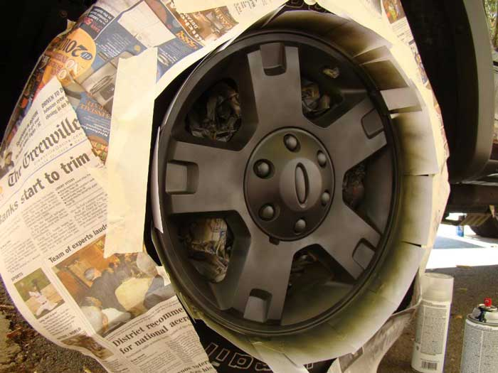 How to Paint Ford F150 OEM Wheel by Yourself (7)