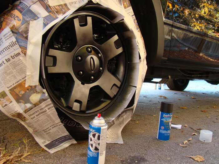 How to Paint Ford F150 OEM Wheel by Yourself (8)