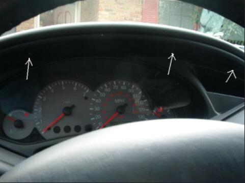 How to Remove Ford Focus Instrument Cluster (1)