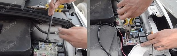 Installa Ford Focus LED Daytime Running Lights By Yourself (4)