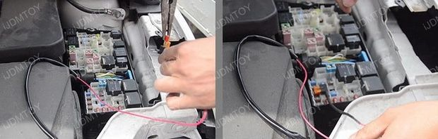 Installa Ford Focus LED Daytime Running Lights By Yourself (5)