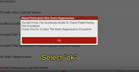 Ford Diesel Particulate Filter (DPF) Static Regeneration Guide-21