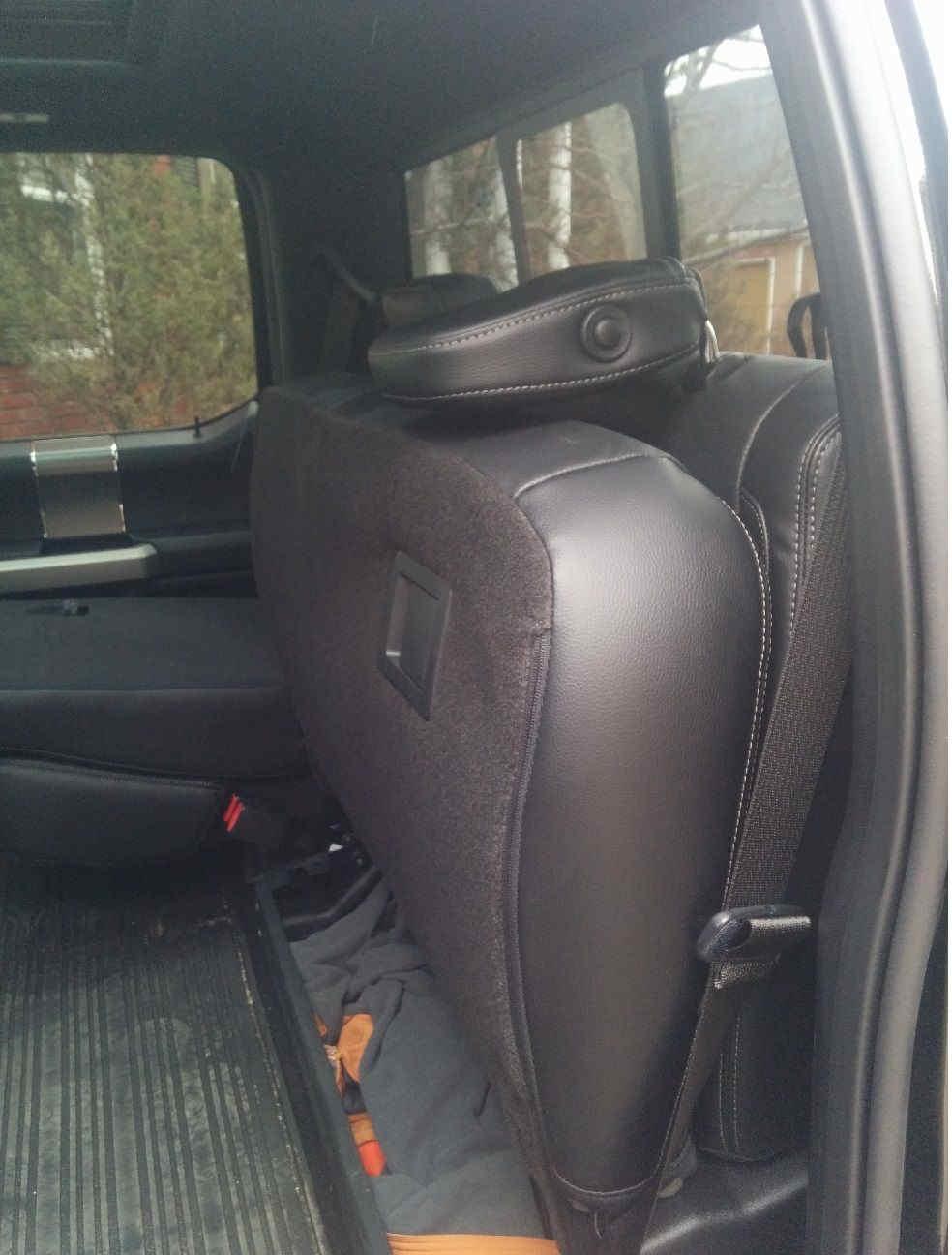Ford F150 2015 Subwoofer Amplifier Retrofits (2)
