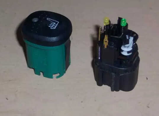How to Repair Ford Focus SVT Heated Seat Switch (3)