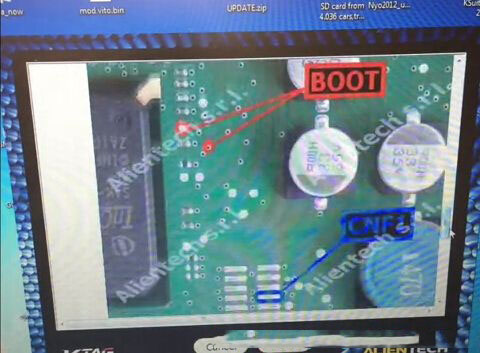 How to read Ford Transit SID208 ECU-5