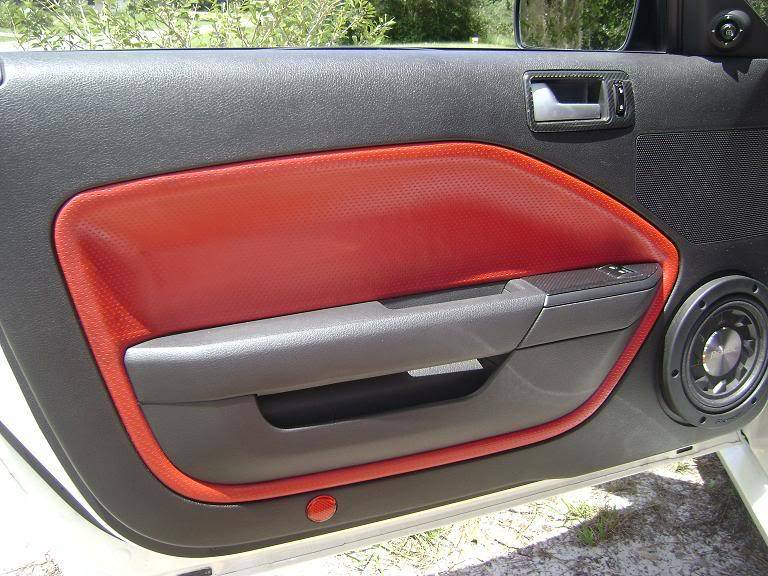 How to Solve Ford Mustang Door Panel Leather Sagging