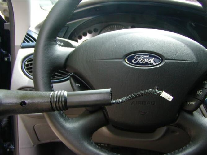 How to Install Shift KnobBoot for Ford Focus 2003 (3)