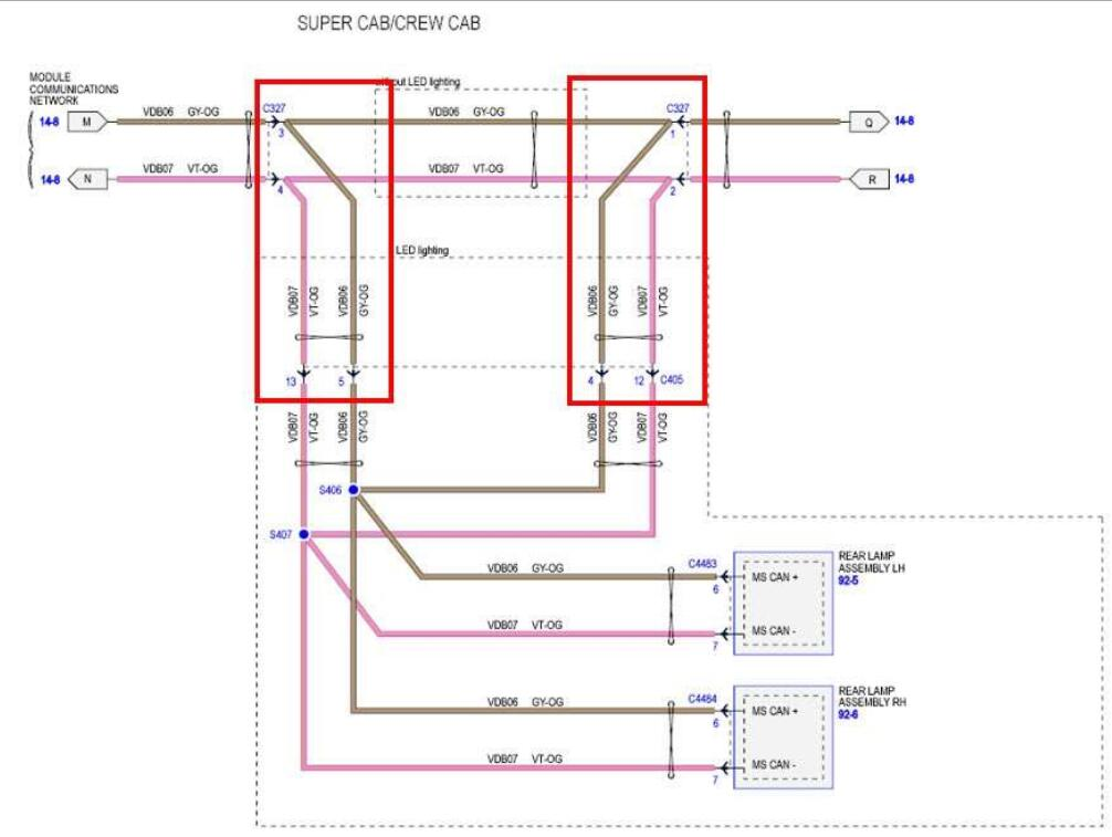 Ford F150 2015 Blind Spot Information System (BLIS) Installation Guide (6)