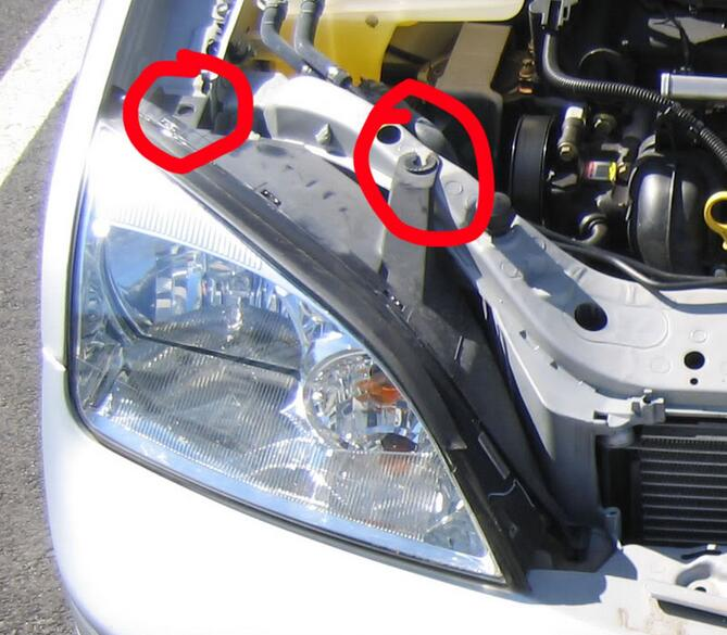 How to Paint Ford Focus 2005 Headlights by Yourself (3)
