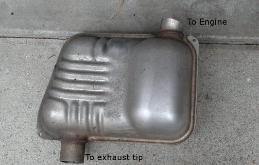Ford Focus 2008 Lunchbox Exhaust Resonator Removal (2)