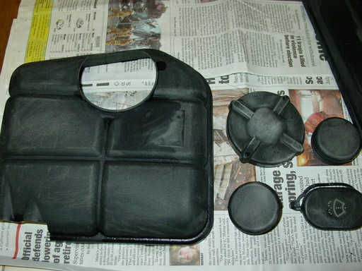 How to Paint Ford Focus Engine Bay by Yourself (2)