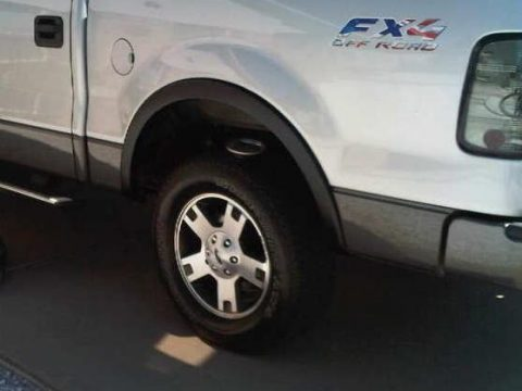 Ford F150 Factory Fender Flares Removing & Painting Guide (13)